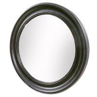 Spegel Round - Svart