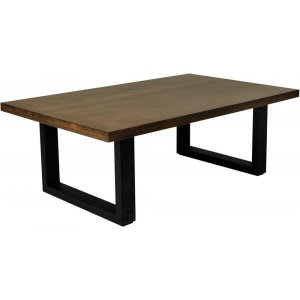 Baxter soffbord - Ekfanér/svart