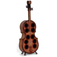Vinställ för 10 flaskor - Violin (Fiolformat)