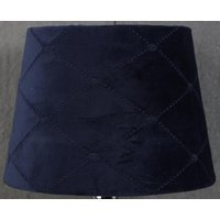 Velvet Diamond lampskärm 20 cm - Mörkblå