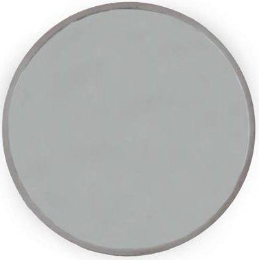 Velvet rund spegel 80cm - Ljus puderrosa sammet