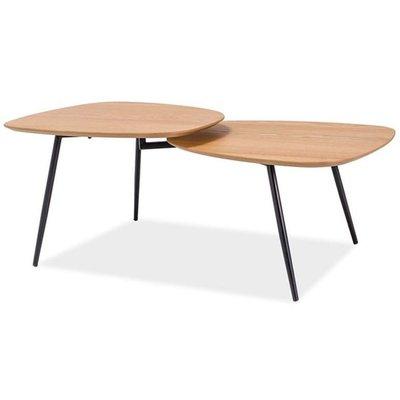 Soffbord Hilda - Ek/svart