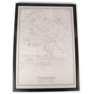 Canvastavla Stockholm