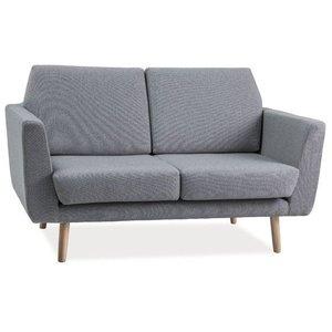 Hallie 2-sits soffa - Grå