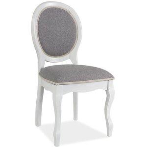 Jimena stol - Grå/vit