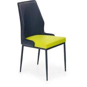 Stol Noel - Svart/limegrön