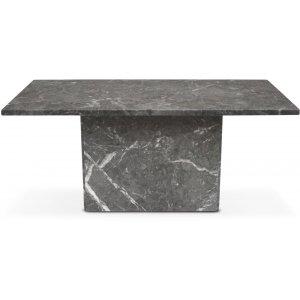 Kindbro soffbord 110 cm - Grå marmor