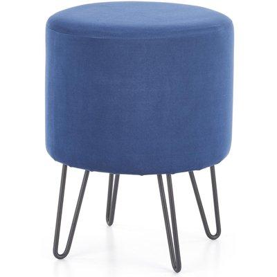Rolph pall - Blå (Sammet)