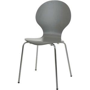 Djurröd stol - Ljusgrå