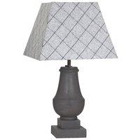 Oxford bordslampa - Grå