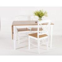 Athen matgrupp - Bord inklusive 4 stolar