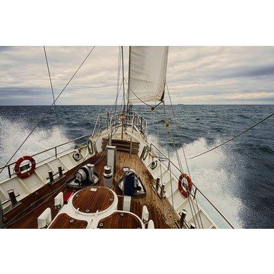 Glastavla Yacht - 120x80 cm