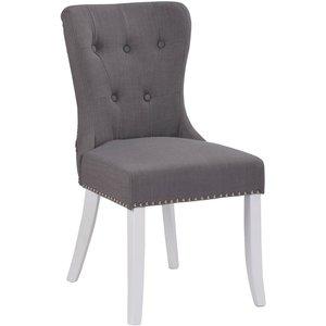 Payton stol - Vit/grå