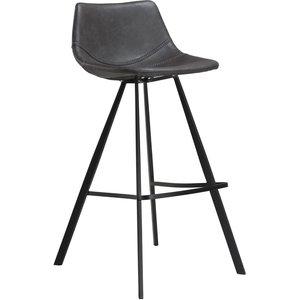 Pitch barstol - Vintage grå / svart