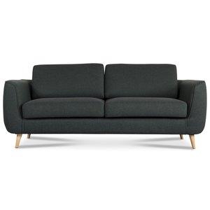 Mind 3-sits soffa - Mörkgrön