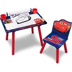Disney Cars ritbord - Blå/röd