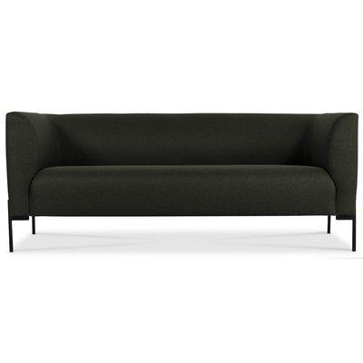 Ontario 3-sits soffa - Mörkgrön
