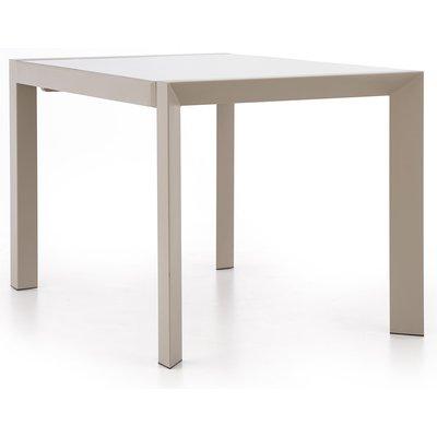 Cadence matbord 122-182 cm - Ljusbrun/beige