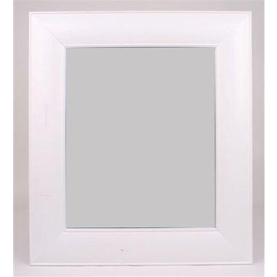 Spegel Plain - Vit