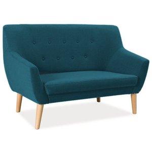 Aliana 2-sits soffa - Blå