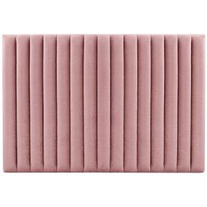 Ribbersborg sänggavel (Rosa sammet) - Valfri bredd