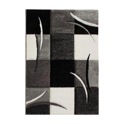 Maskinvävd matta Rivoli - Svart