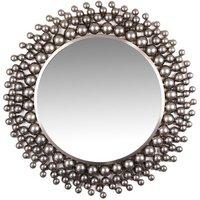 Balls spegel 81 cm - Nickel