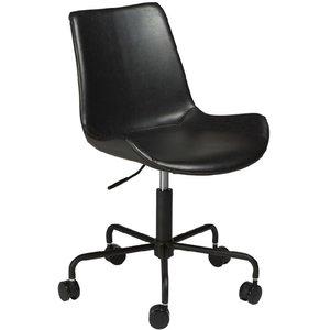 Hype kontorsstol - Vintage svart thumbnail