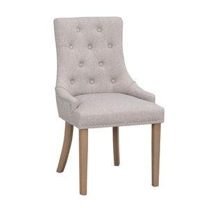 Verity stol - Ljusgrå/ek