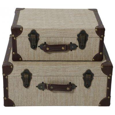 Louis koffert X 2 (Vintage)